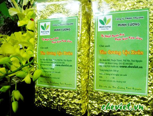 Trà tân cương Lộc Xuân 500gr