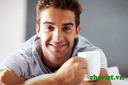 uống trà xanh giảm tác hại thuốc lá