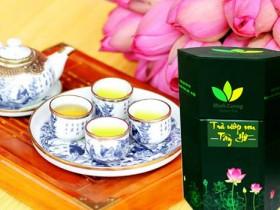 Trà sen Hồ Tây Minh Cường bán chạy nhất Hà Nội và trên toàn quốc