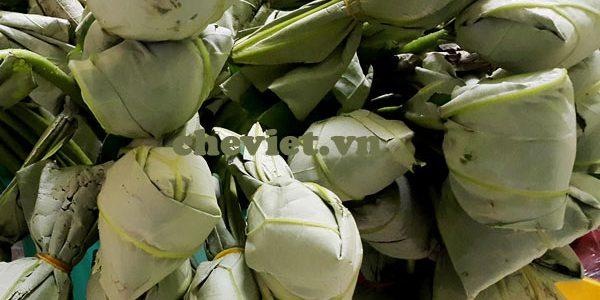 Giá trà Thái Nguyên ướp trong hoa sen