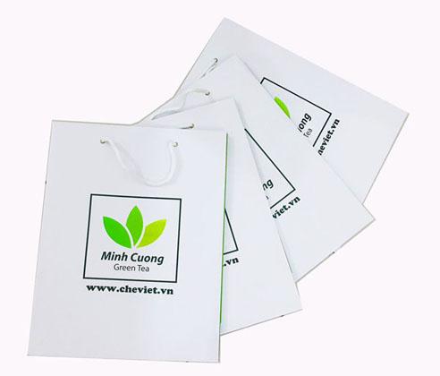 Túi giấy đựng trà Thái nguyên