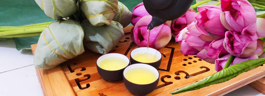 Chén trà Sen Minh Cường