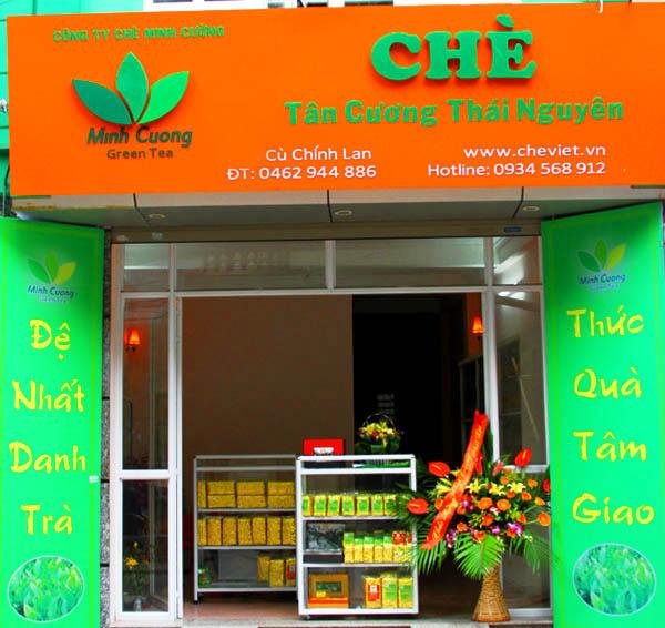 Cửa hàng chè Thái Nguyên Minh Cường
