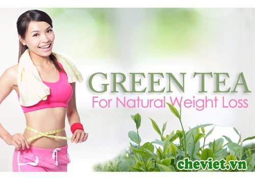 Cách giảm cân hiệu quả bằng trà xanh