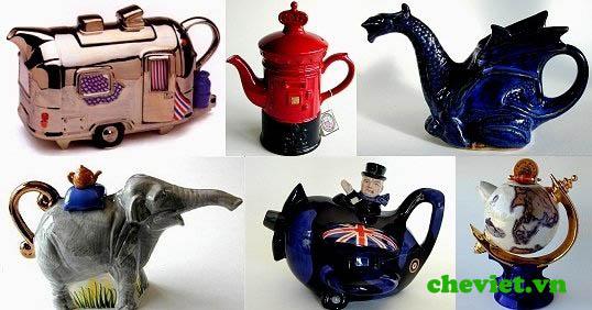 ấm trà độc đáo