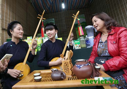 Nghệ thuật uống trà Thái Nguyên