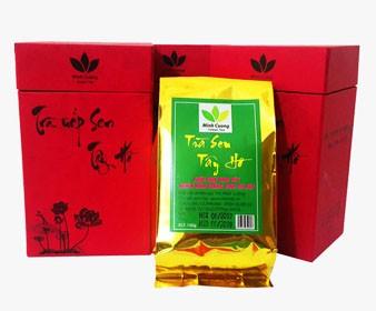 Sản phẩm Trà ướp sen Cao cấp của Trà sen Minh Cường