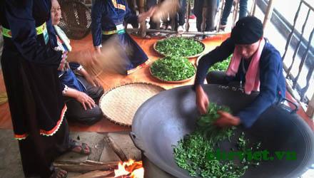 Lấy hương trà Thái Nguyên