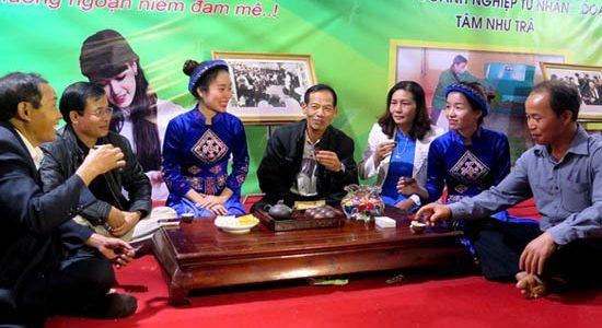 Uống Trà Thái Nguyên giảm nguy cơ ung thư phổi