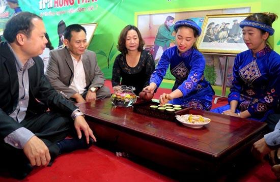 Uống Trà Thái Nguyên ngày nay