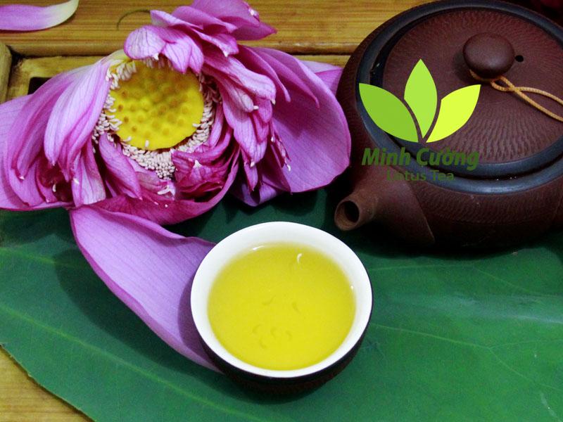 Trà ướp sen Minh Cường - Thức quà tinh túy ngàn năm Thăng Long - Hà Nội