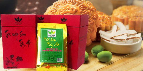 Thơm thảo hộp trà, quà Trung thu ý nghĩa