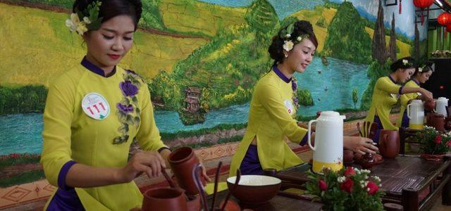 Sở thích uống trà Thái Nguyên